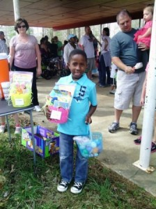 Riverwood Boy With Easter Basket
