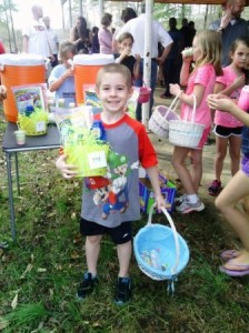 Riverwood Kids Get Easter Baskets 4-5-14