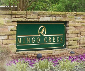 Mingo Creek Sign